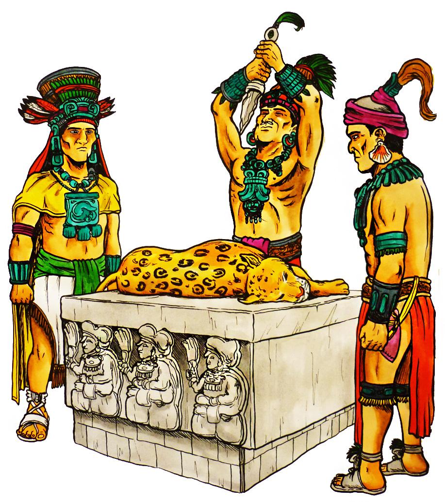 religión Maya, politeísta